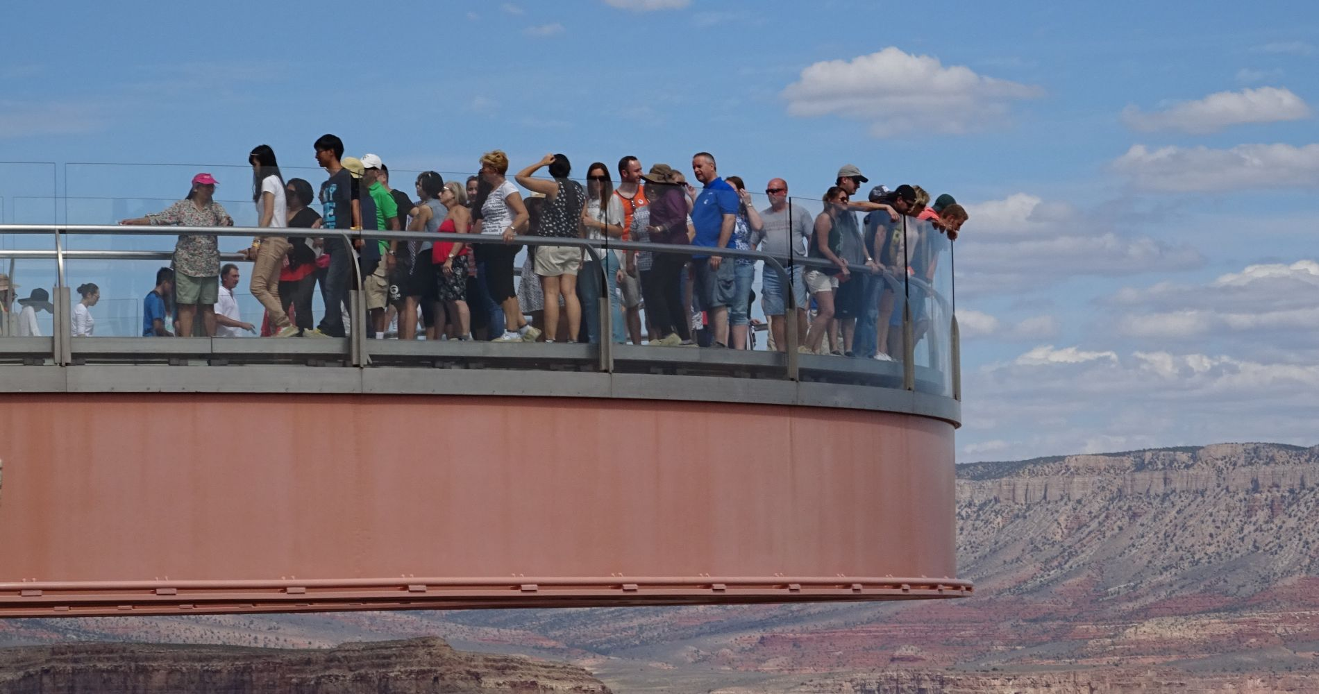 Grand Canyon West Rim Skywalk Experience
