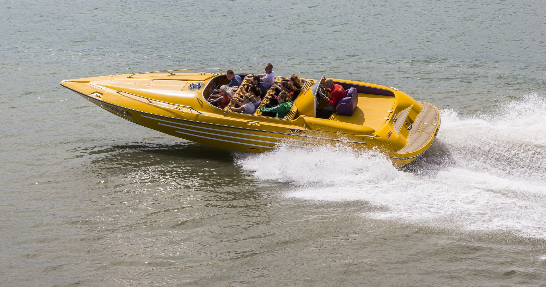 Clearwater Sea Speedboat Cruise for Two in Tampa