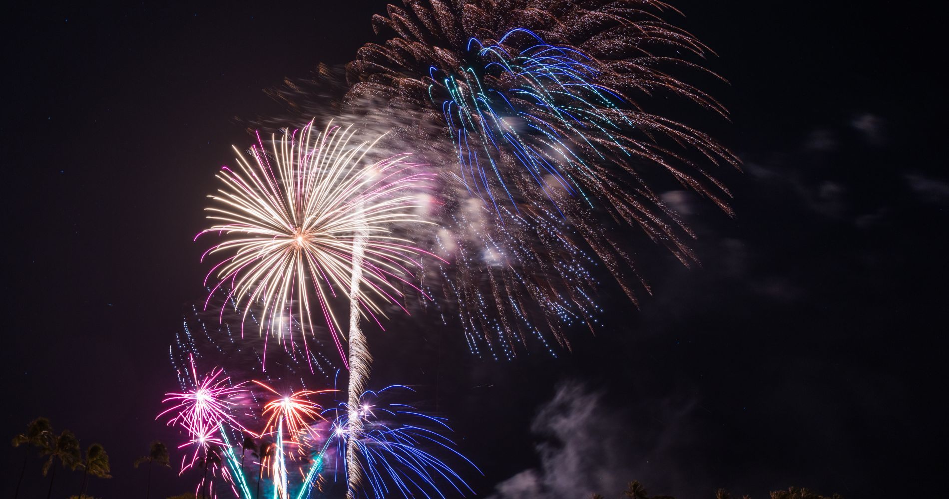 Oahu Fireworks Dinner Cruise for Two