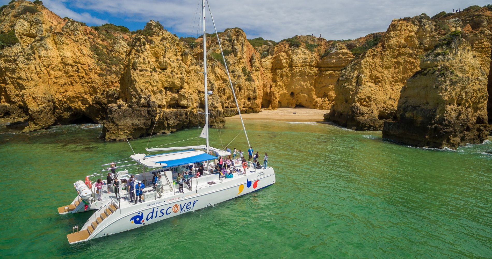 Catamaran Cruise for Two in the Algarve