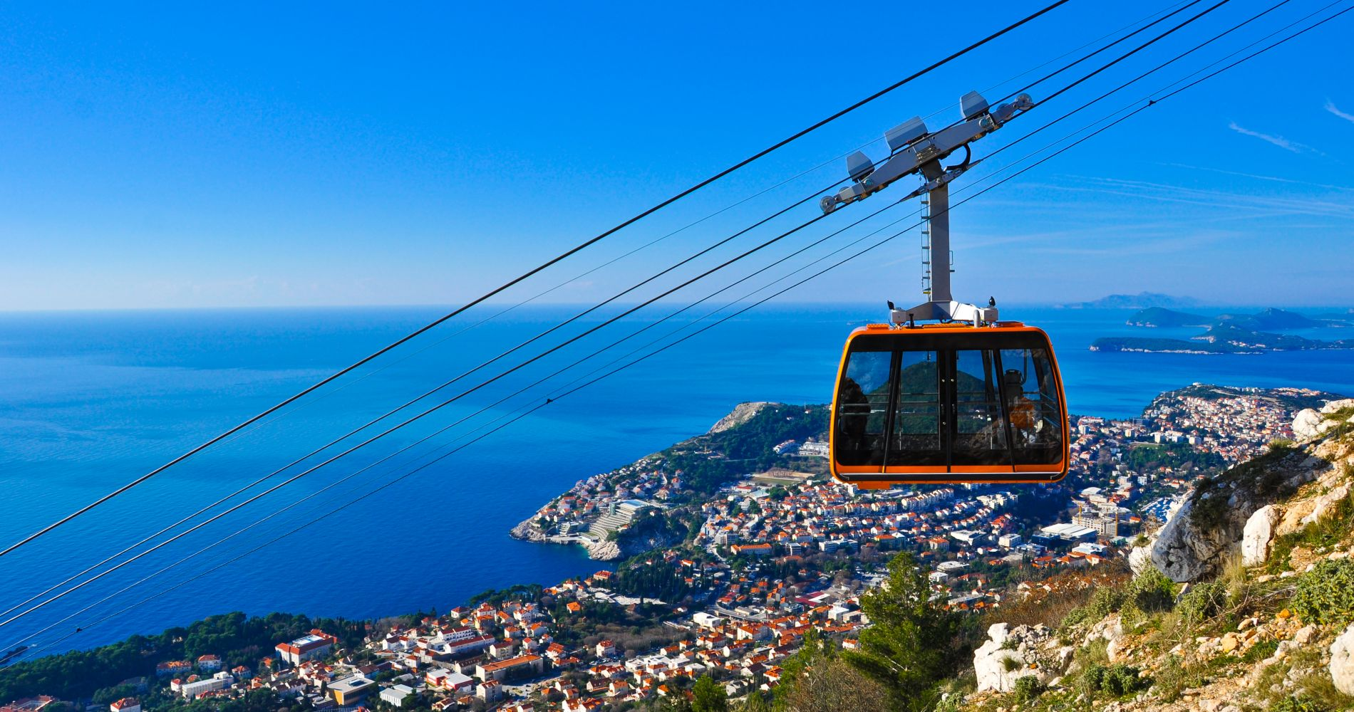 Explore Dubrovnik by Cable Car for Two