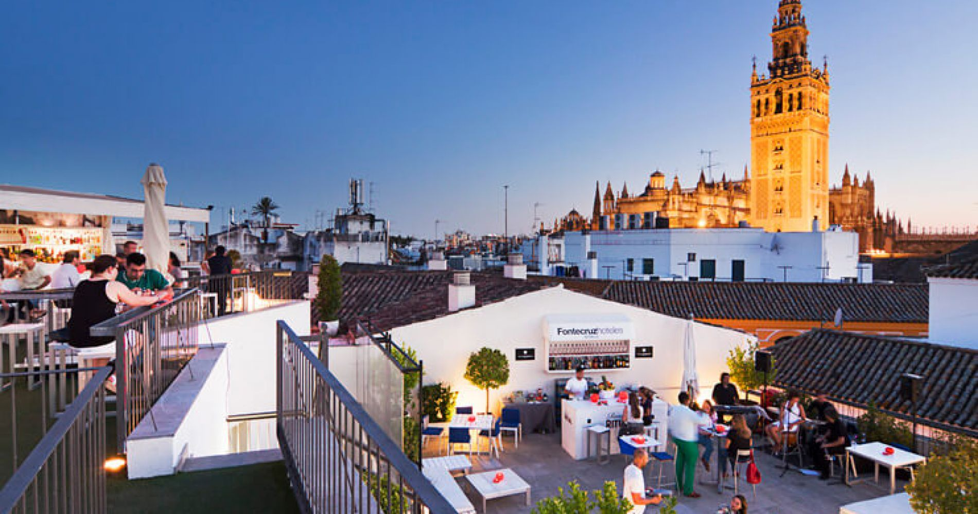 Rooftop Experience in Seville for Two