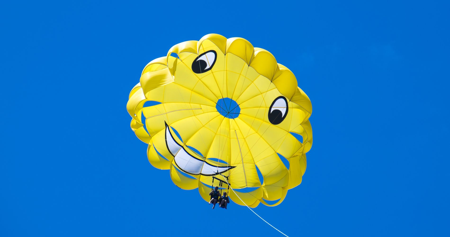 Parasailing on the French Riviera