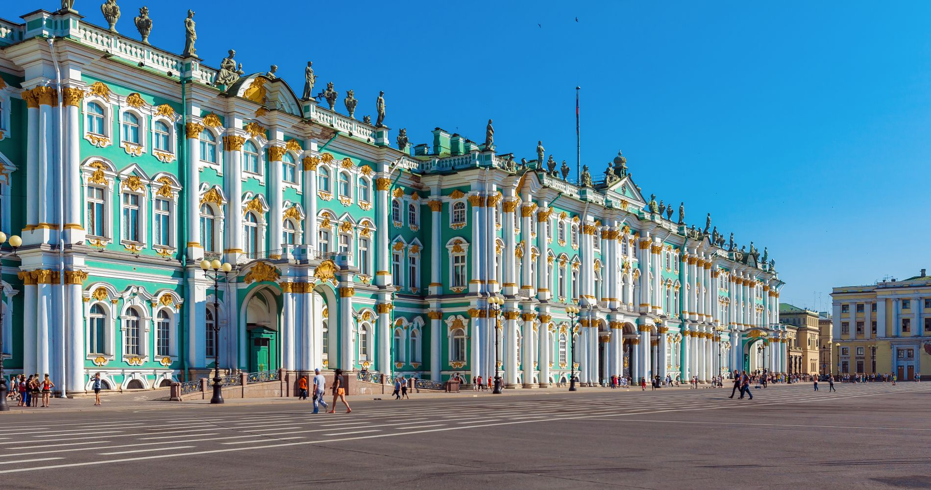 Hermitage Museum Walking Tour in St. Petersburg