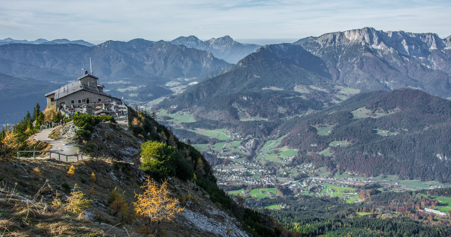 Bavarian Mountains including Eagles Nest & Salt Mines for Two