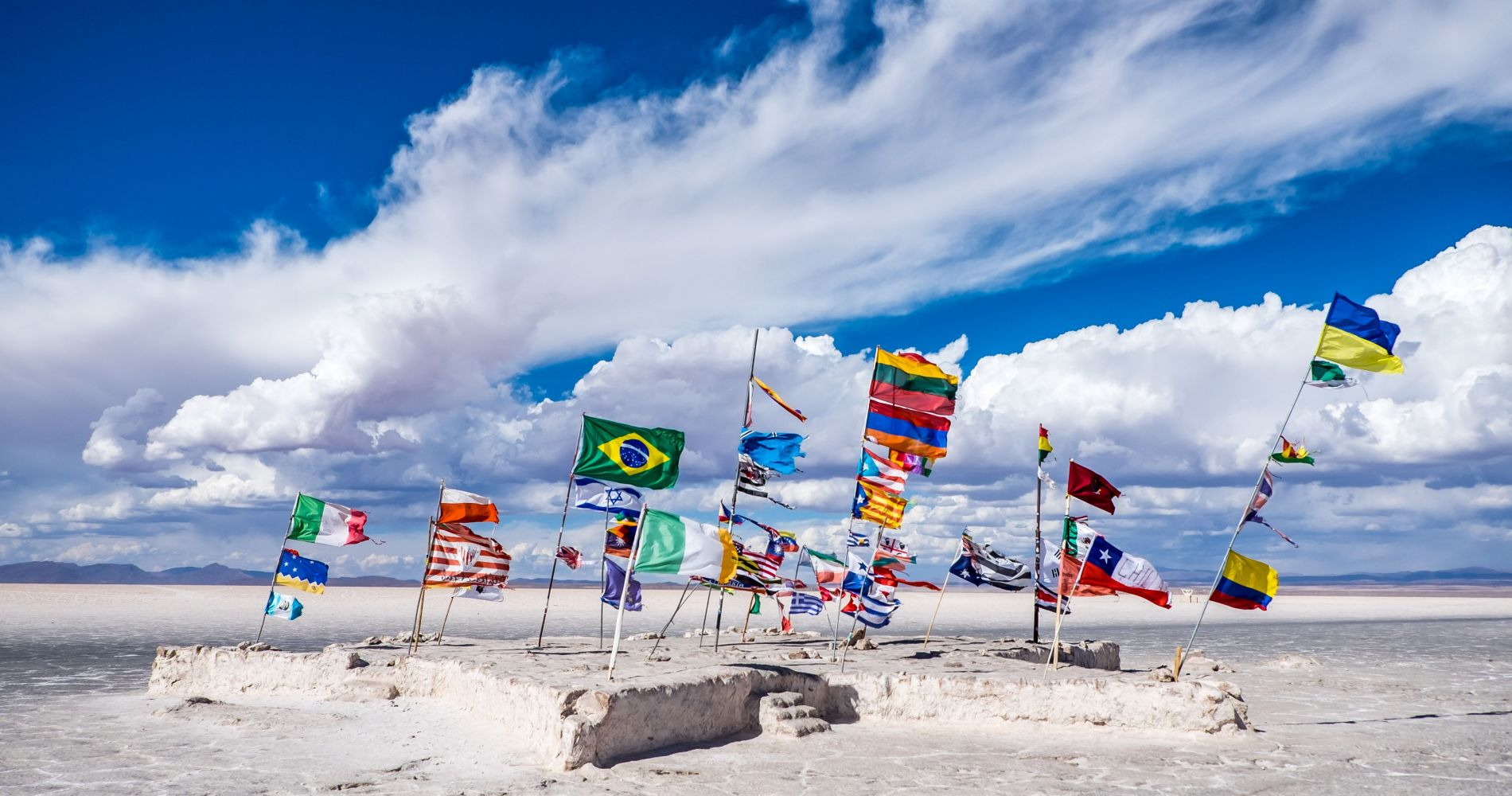 Uyuni Salt Flats Full Day Tour for Two in Bolivia