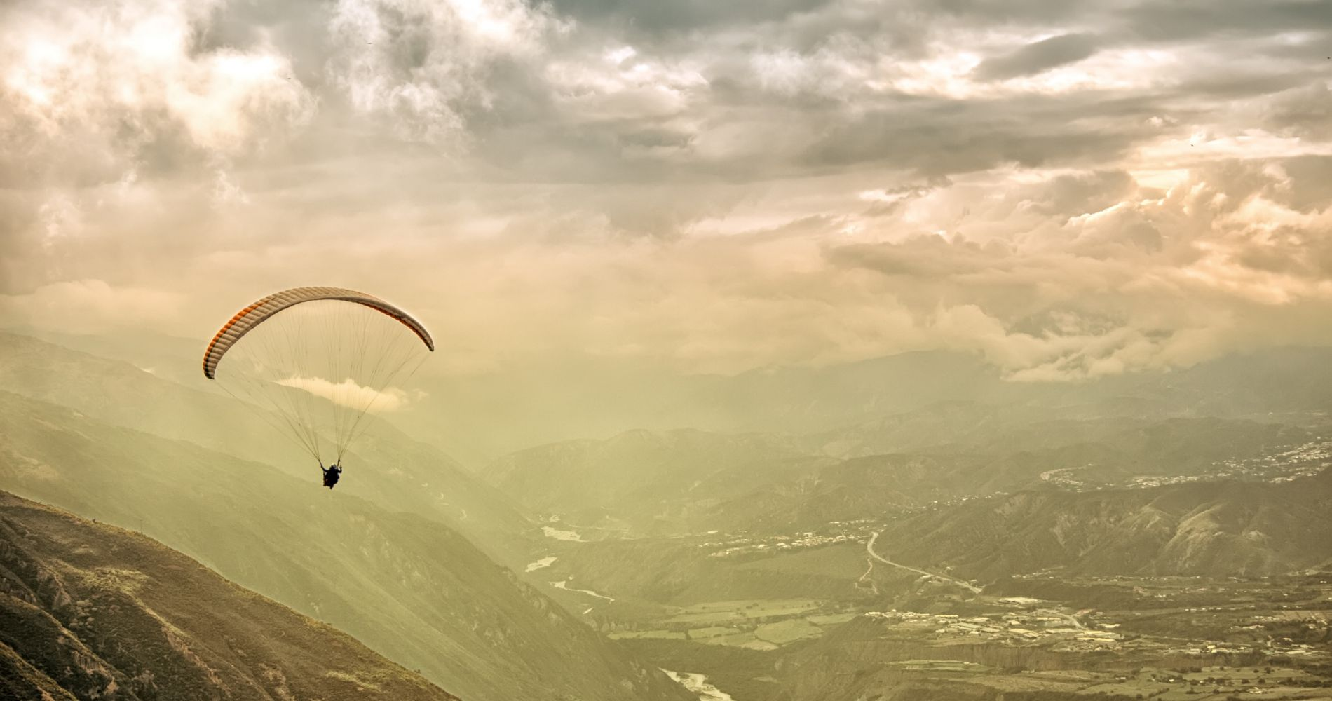Paragliding in the Andes for Two