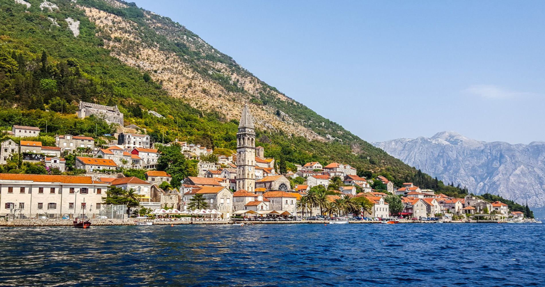 Boka Bay Day Cruise from Kotor for Two