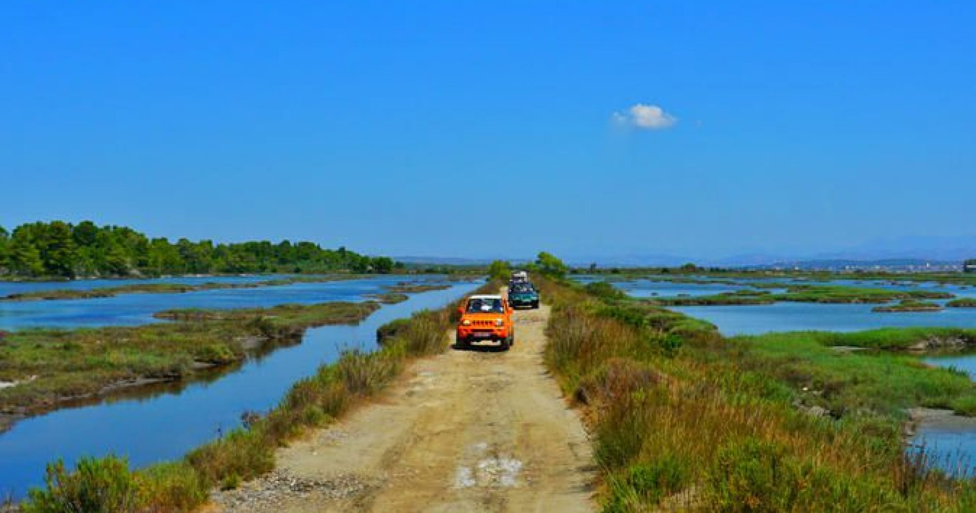 Jeep Tour to Karavasta Lagoon from Tirana for Two