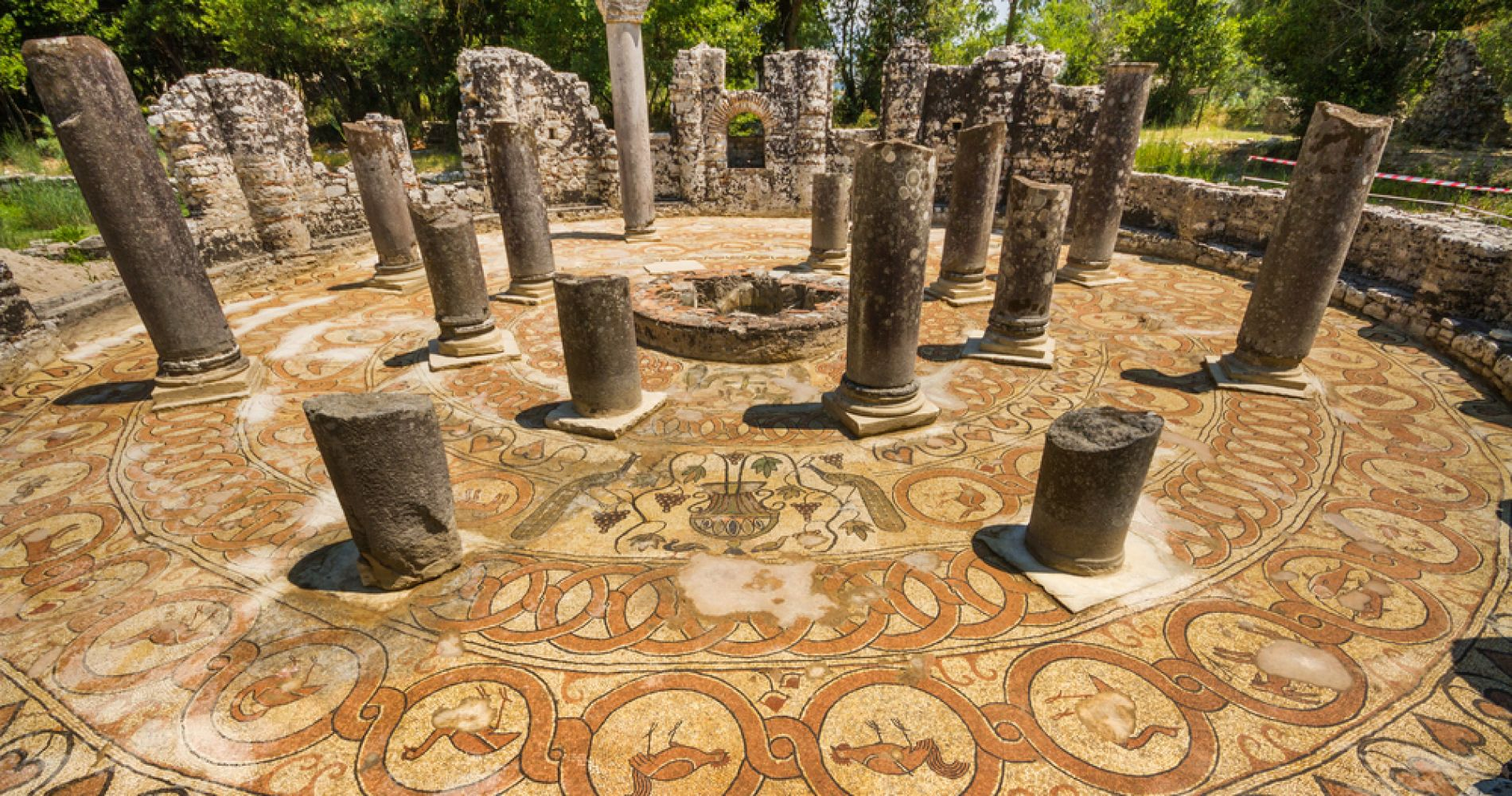Butrint Guided Tour from Saranda for Two