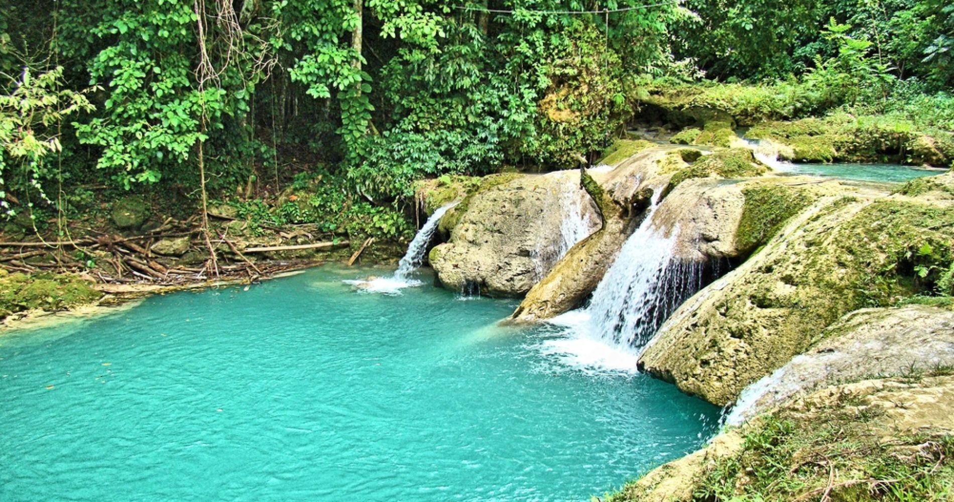 Blue Hole & Konoko Falls Park Combo Tour for Two