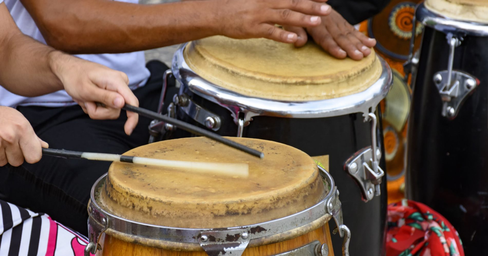 Afro Percussion Drum Workshop in San Juan