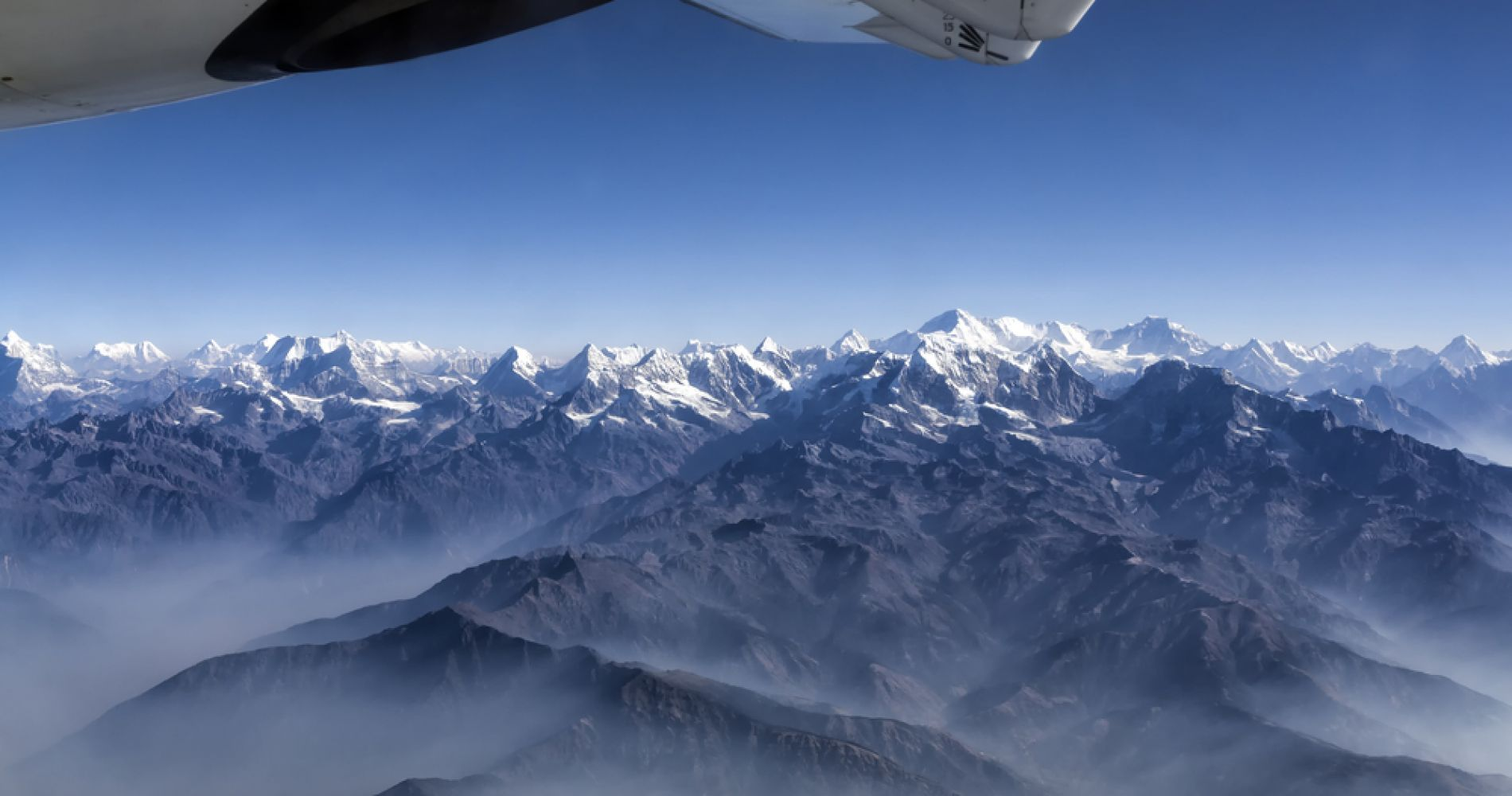 Incredible Flight Past Mount Everest