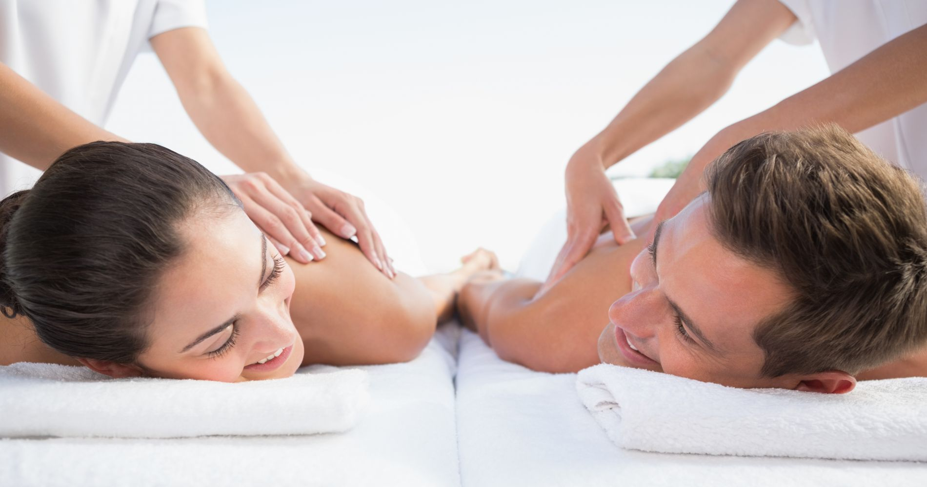 Massage Package at Valley Church Beach for Two