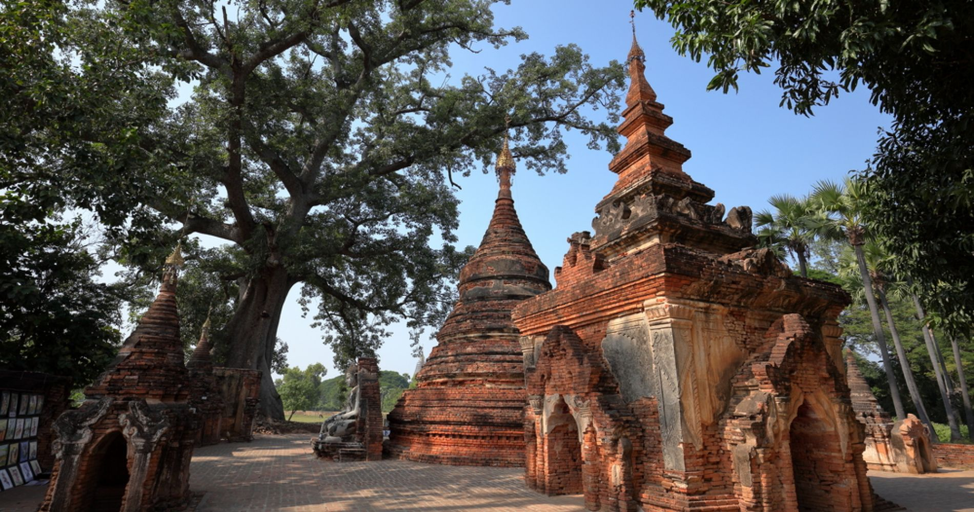 Ancient Cities, Pagodas & Sunset Tour from Mandalay