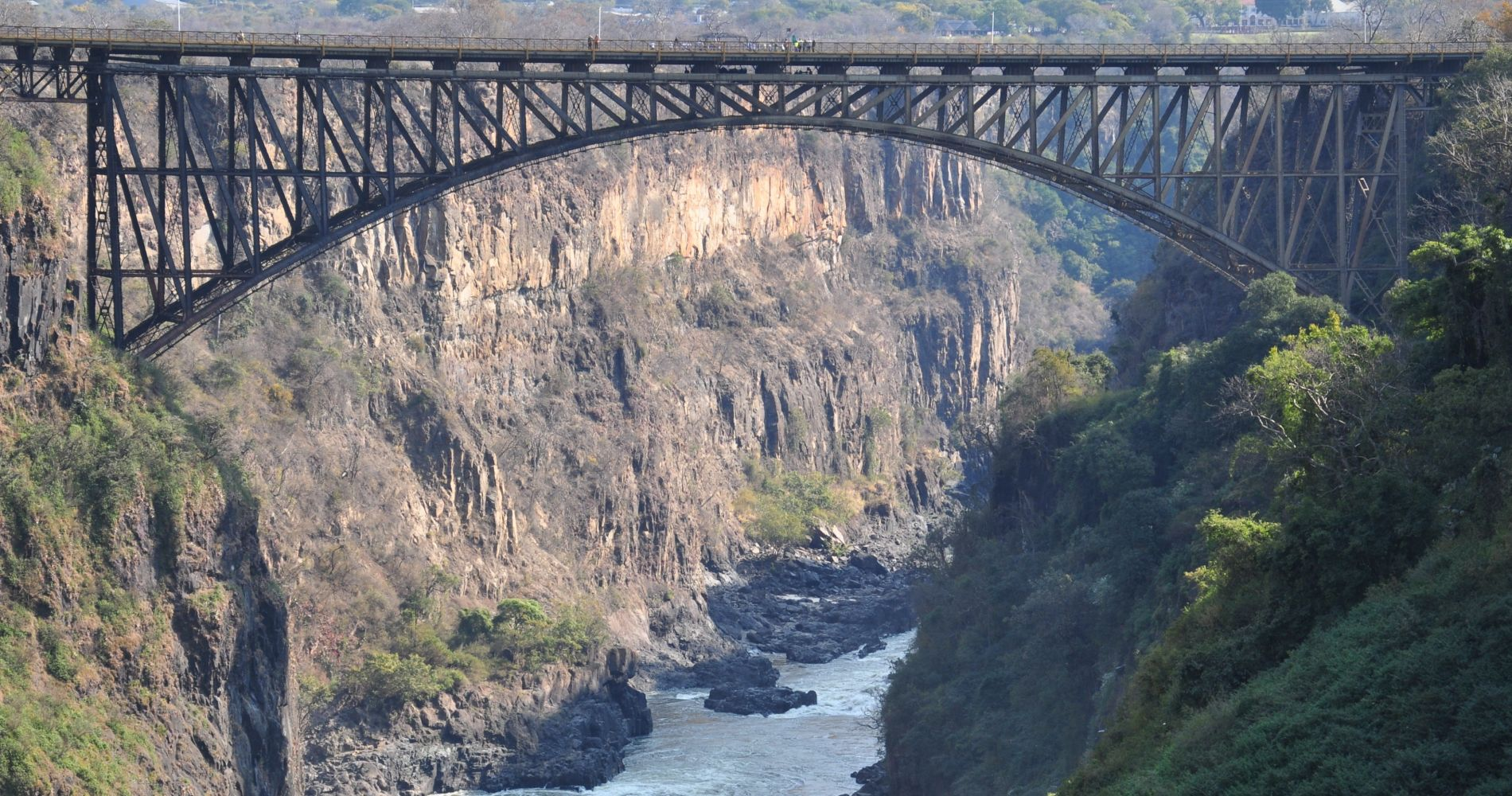 Breathtaking Gorge Swing in the Batoka Gorge below Victoria Falls for Two