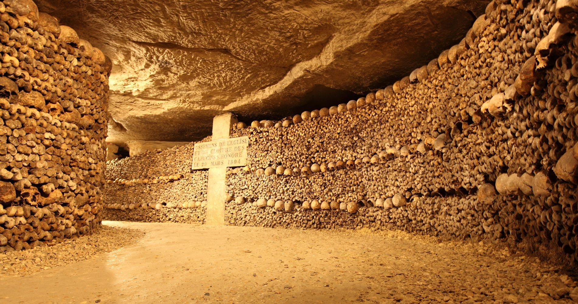 catacombs tour paris france gift