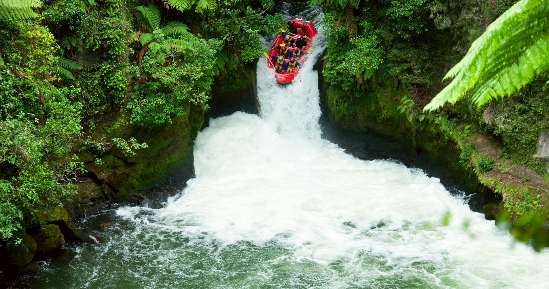 The Extreme Kaituna River Grade 5 Rafting for Two