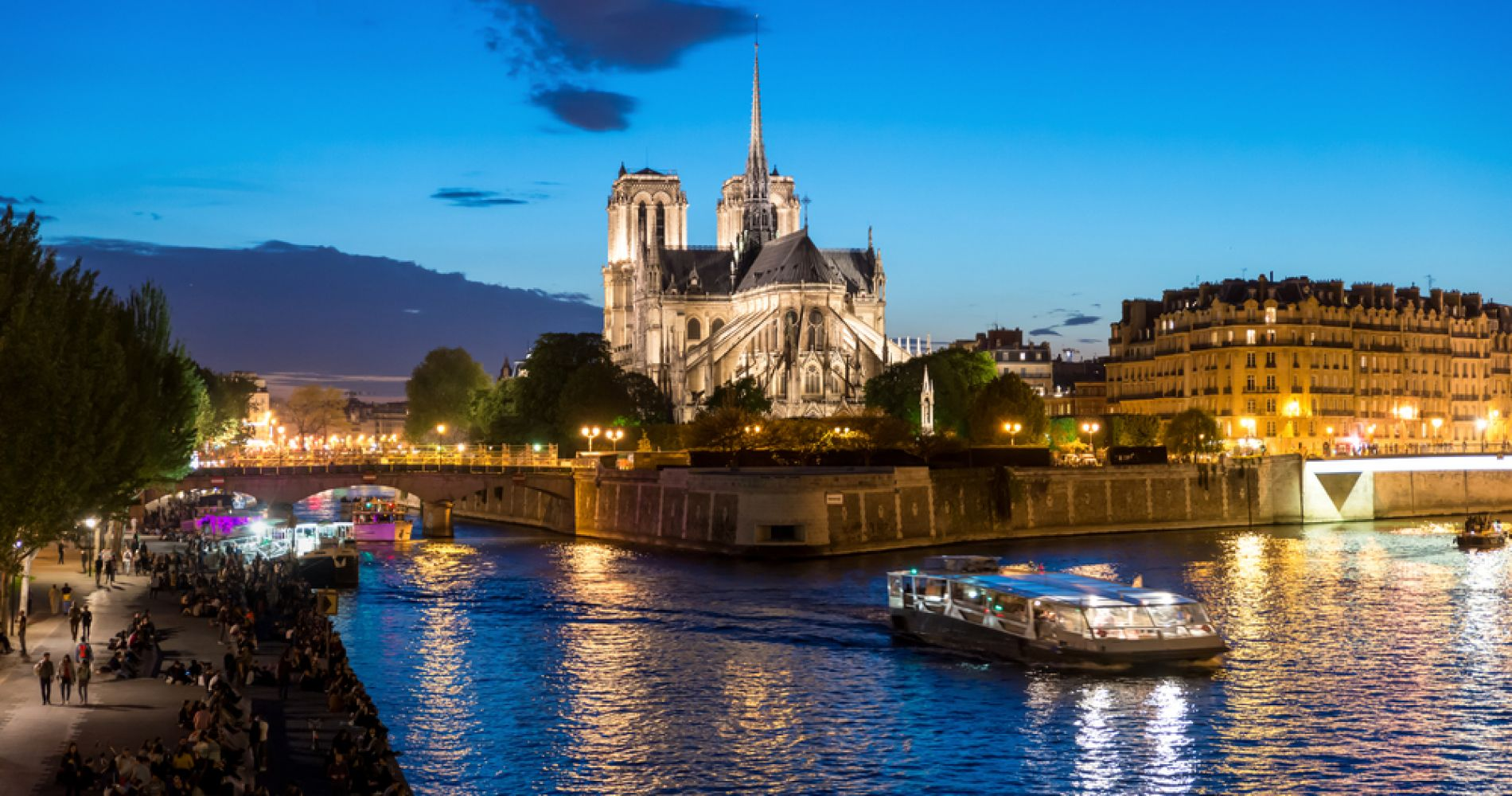 Dinner Cruise on The Magical River Seine for Two