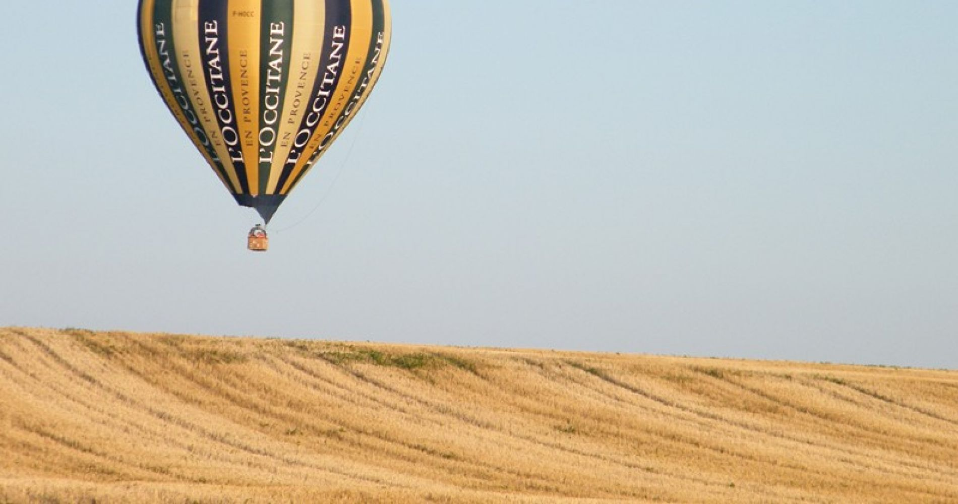 Hot air balloon flight over Loire Valley