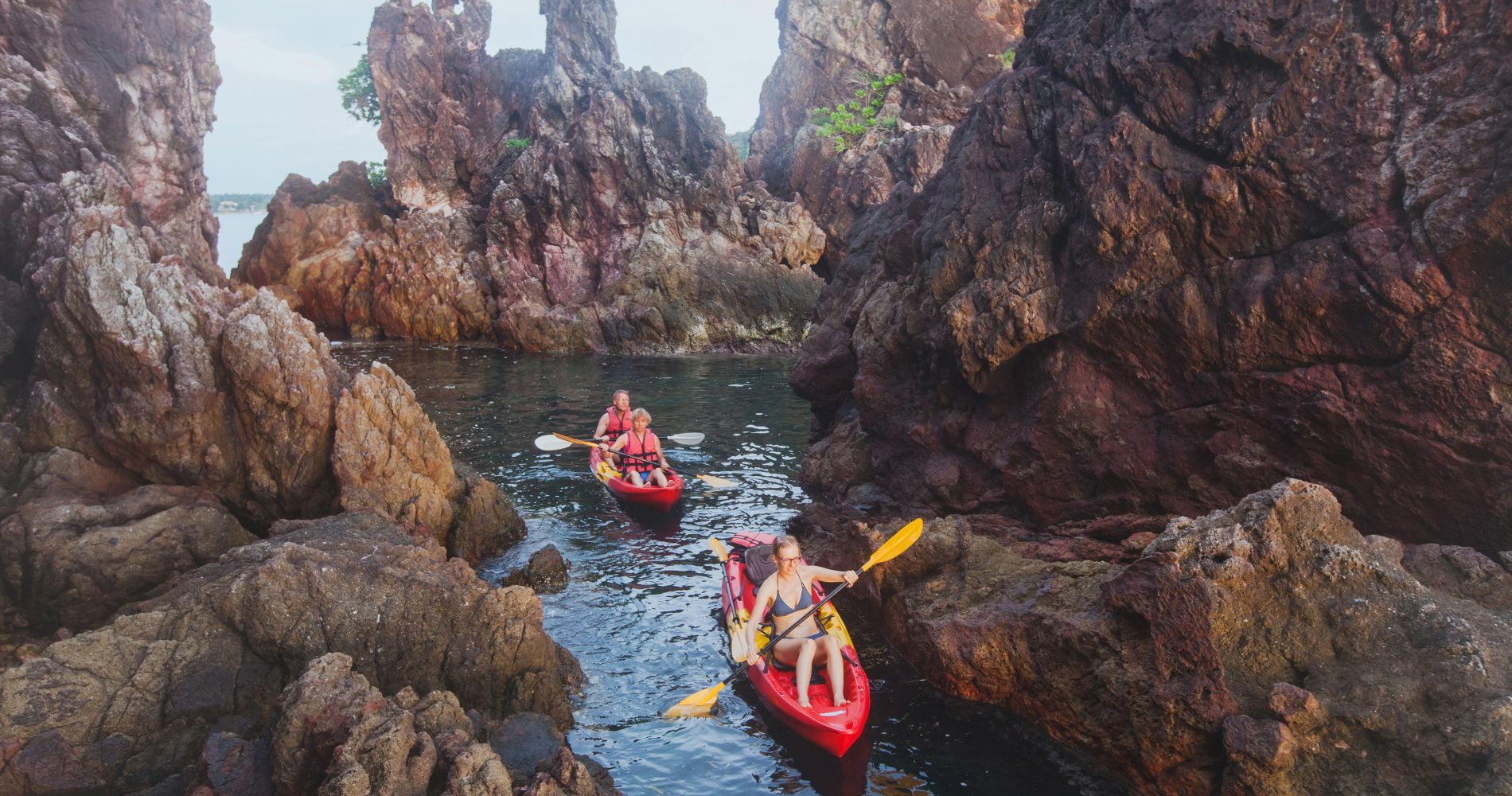 Costa Brava Kayaking and Snorkeling Experience from Barcelona