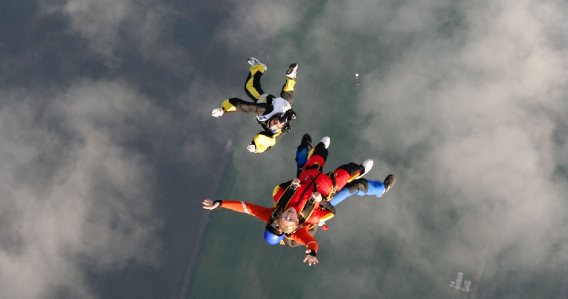 Breathtaking tandem skydiving in Siófok