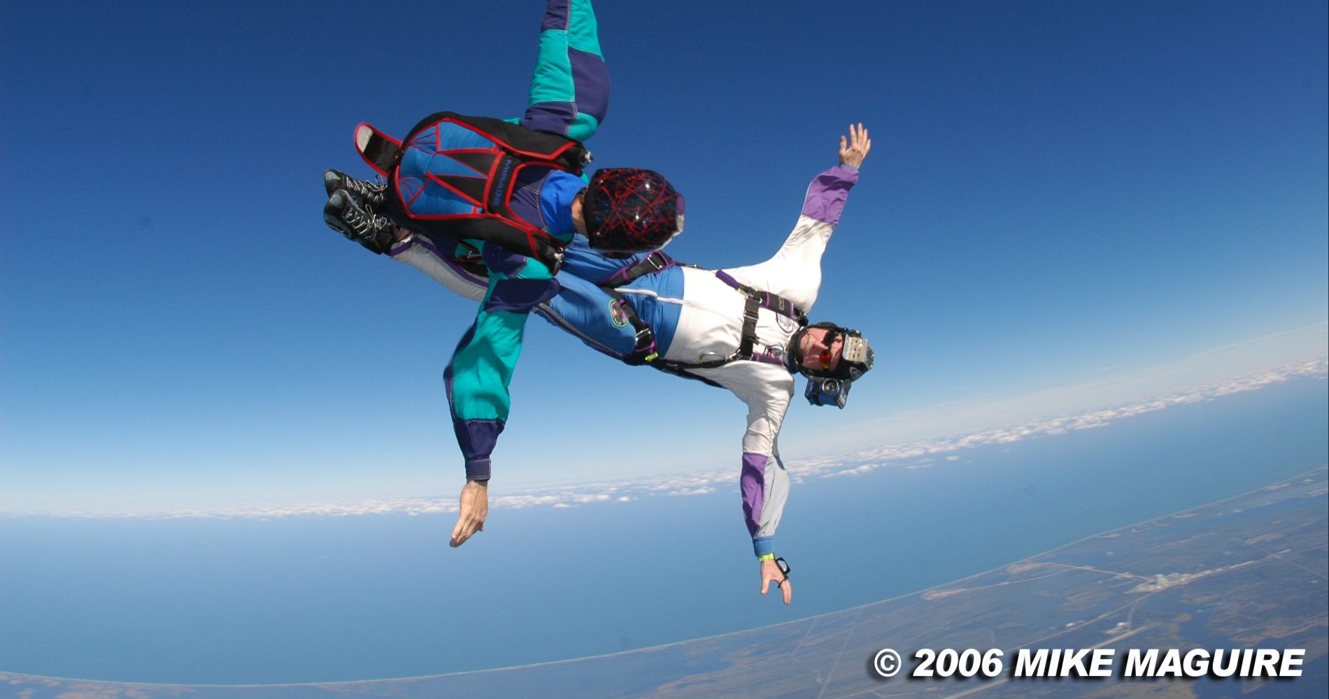 Stunning tandem skydive over Space Coast