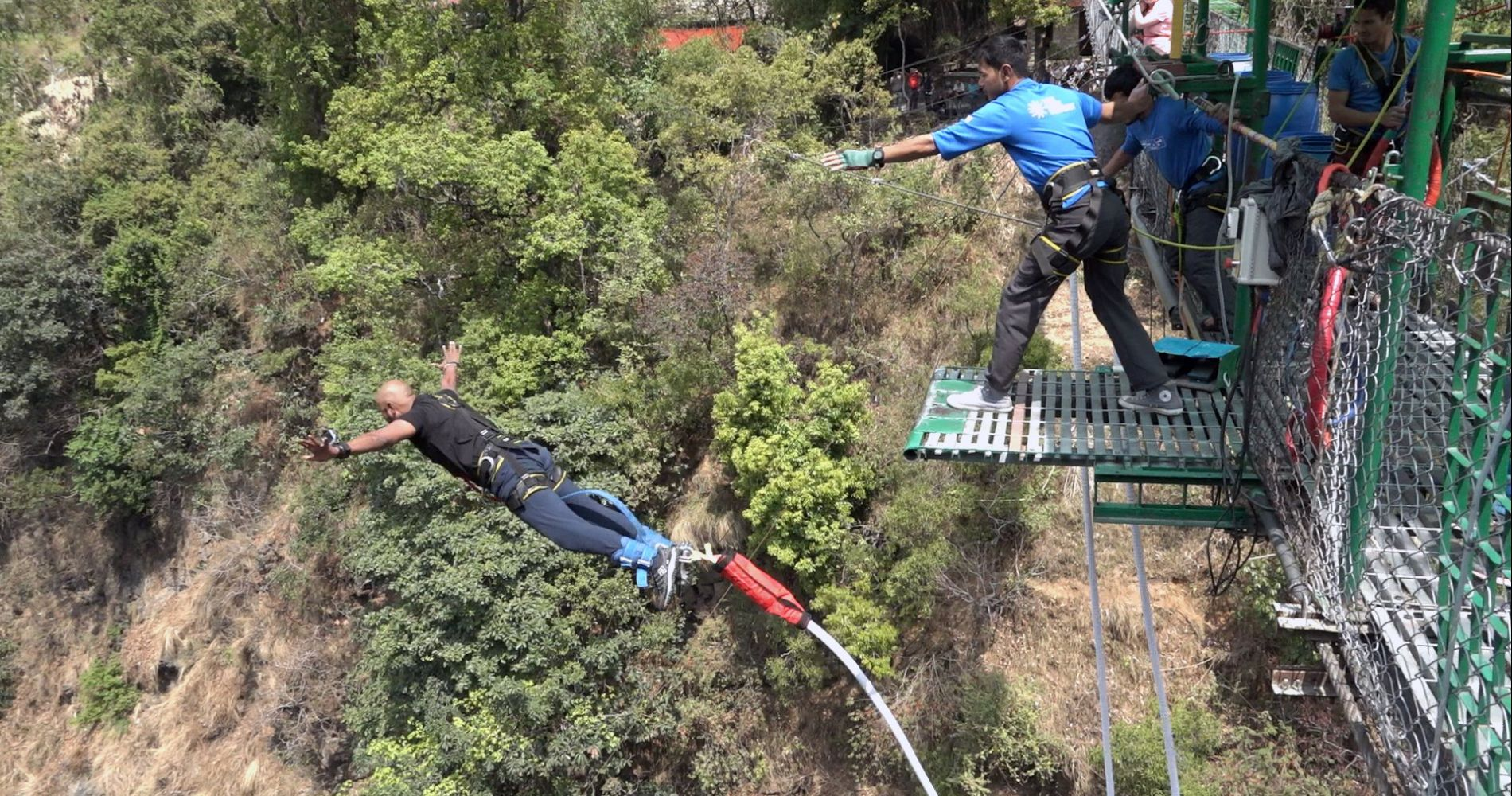 Bungee day trip in Nepal