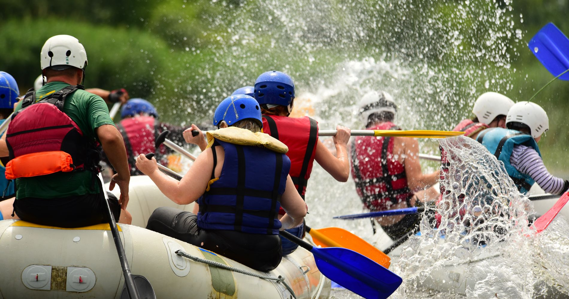 Whitewater Rafting Day Trip from NYC