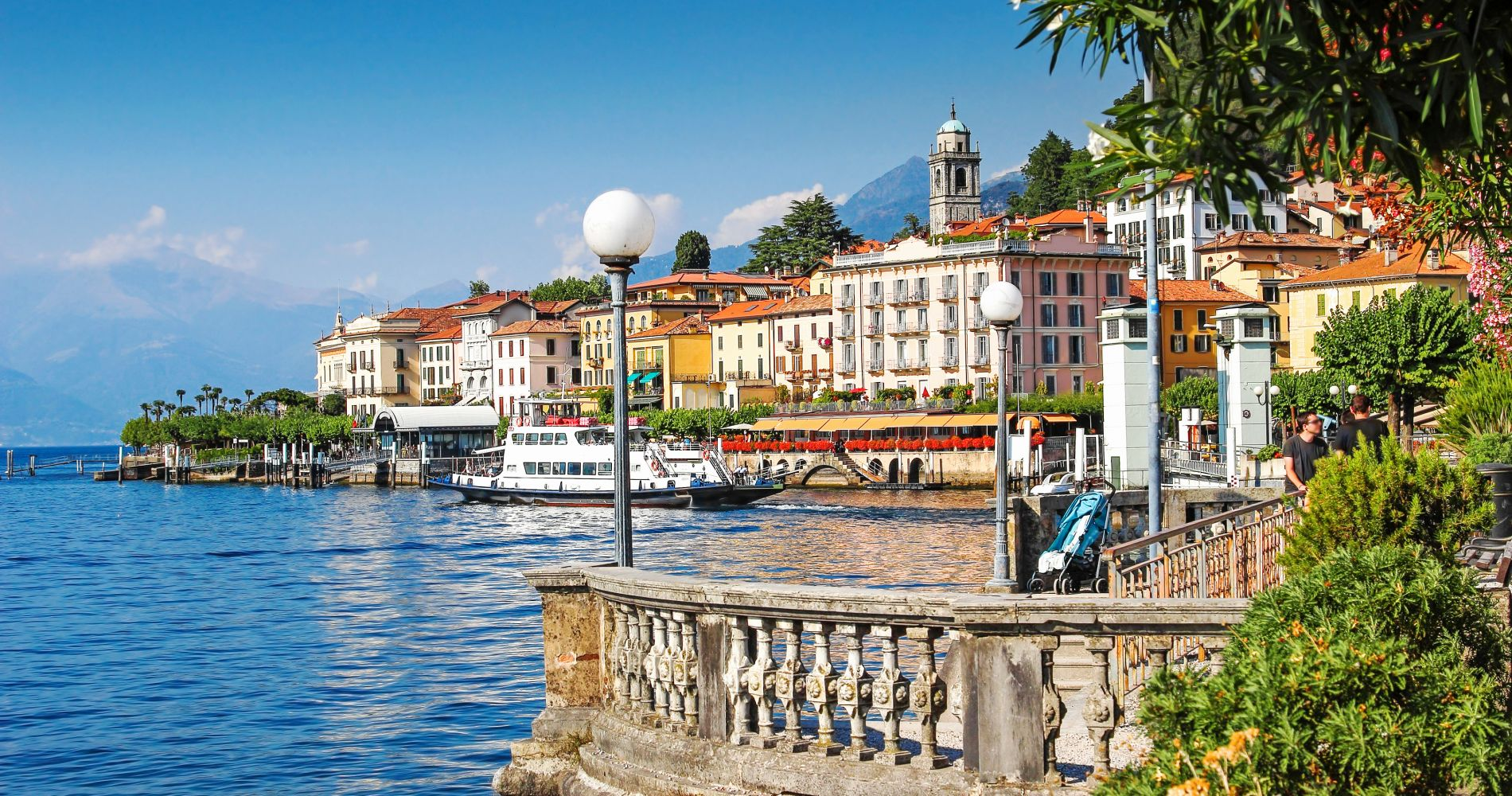 Lake Como with Bellagio and Lugano Day Trip from Milan for Two