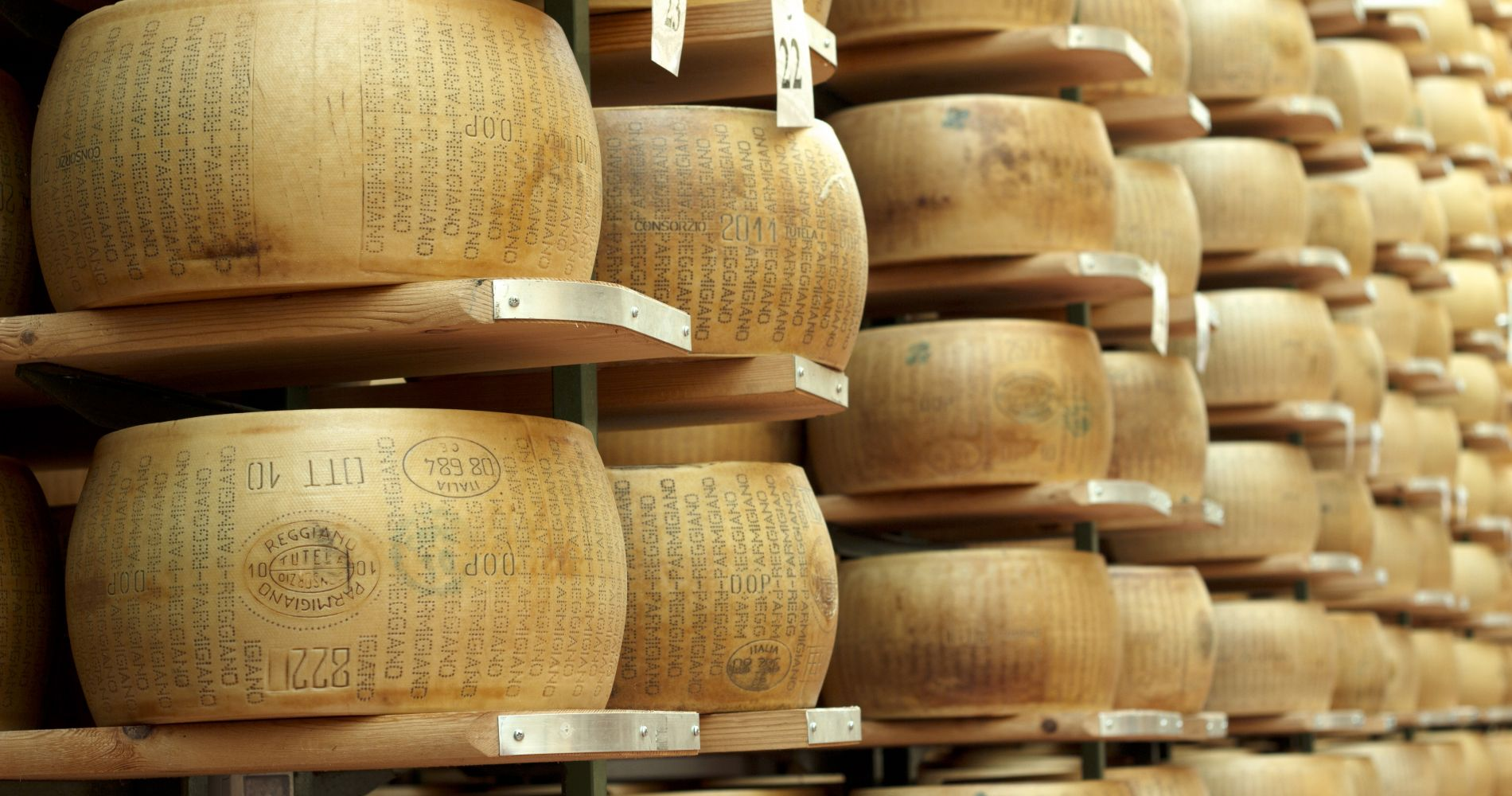 Parma Ham & Parmigiano Reggiano Cheese Factory from Parma for Two