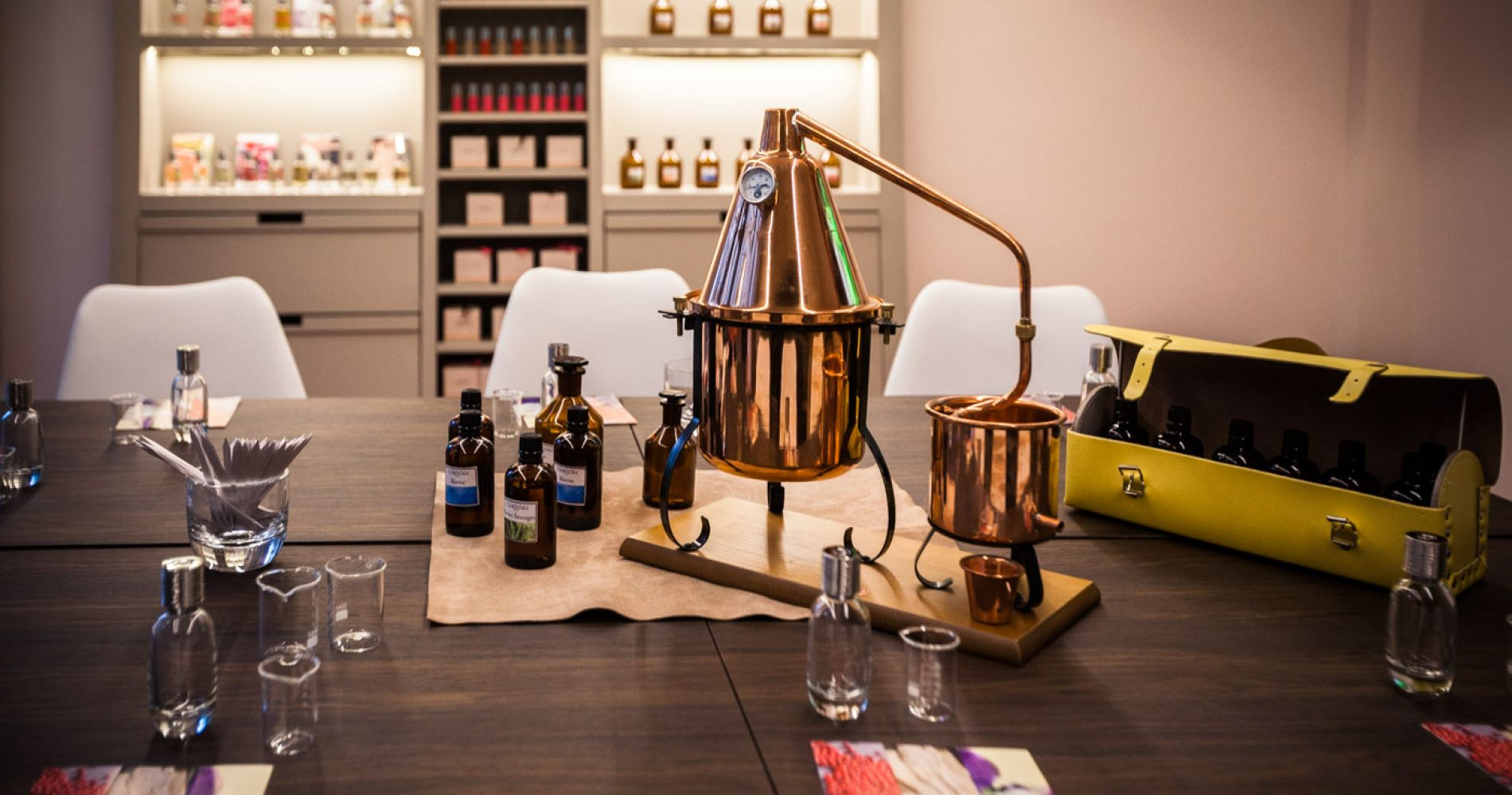 Perfume Creation Workshop for Two in Paris