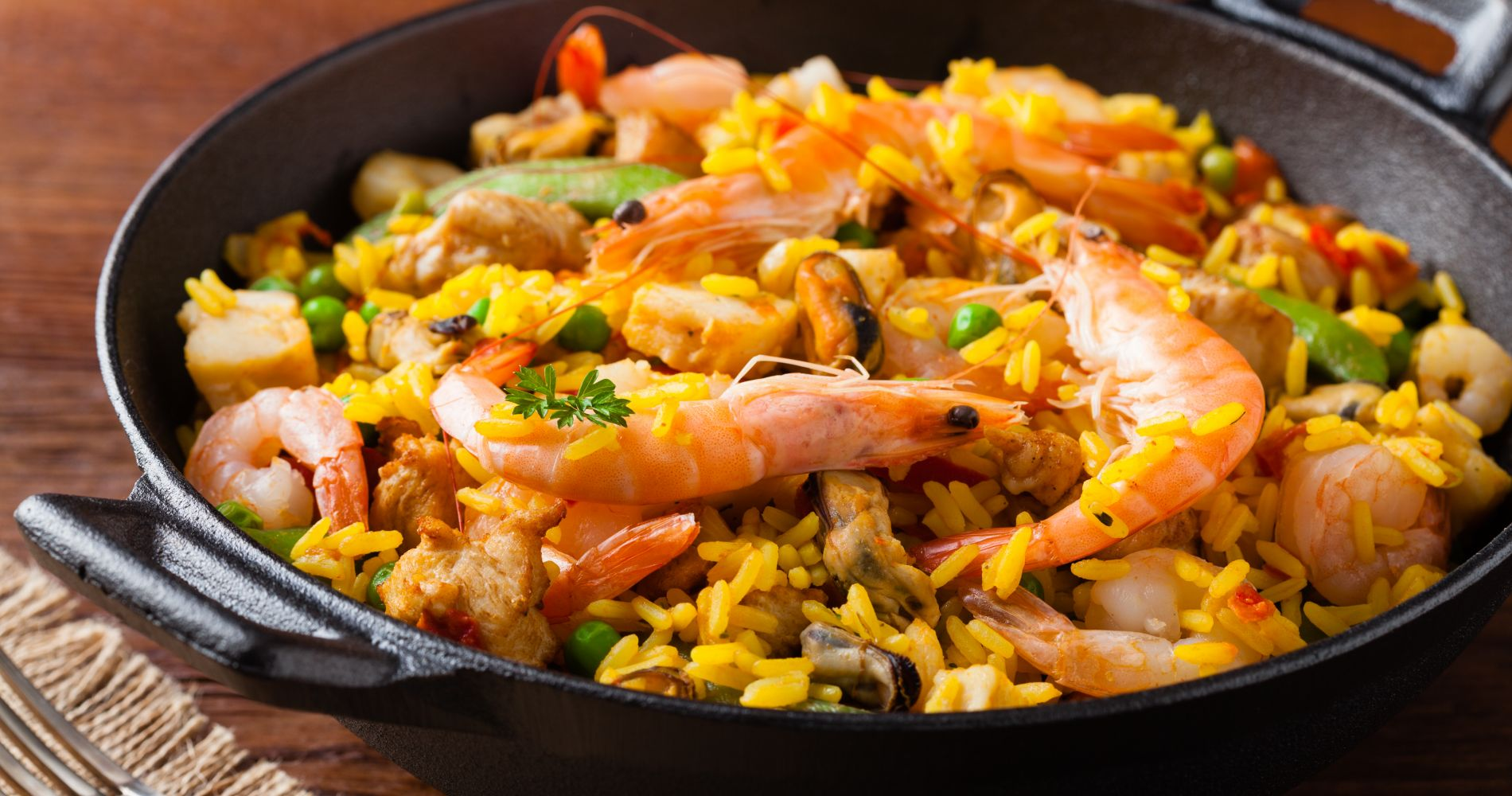 Paella and Sangria Cooking Workshop in Madrid for Two