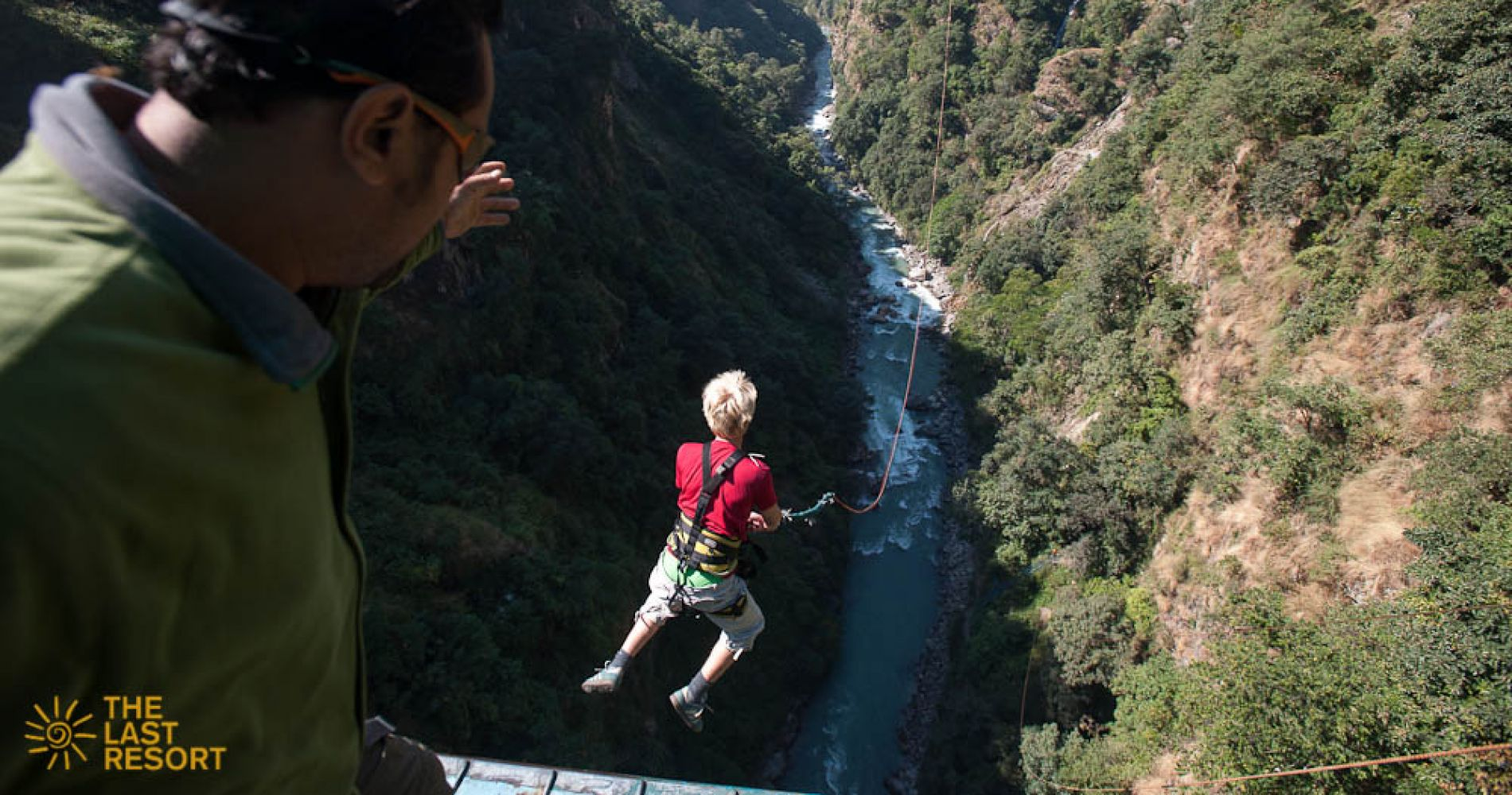 Canyon Swing day trip in Nepal for Two