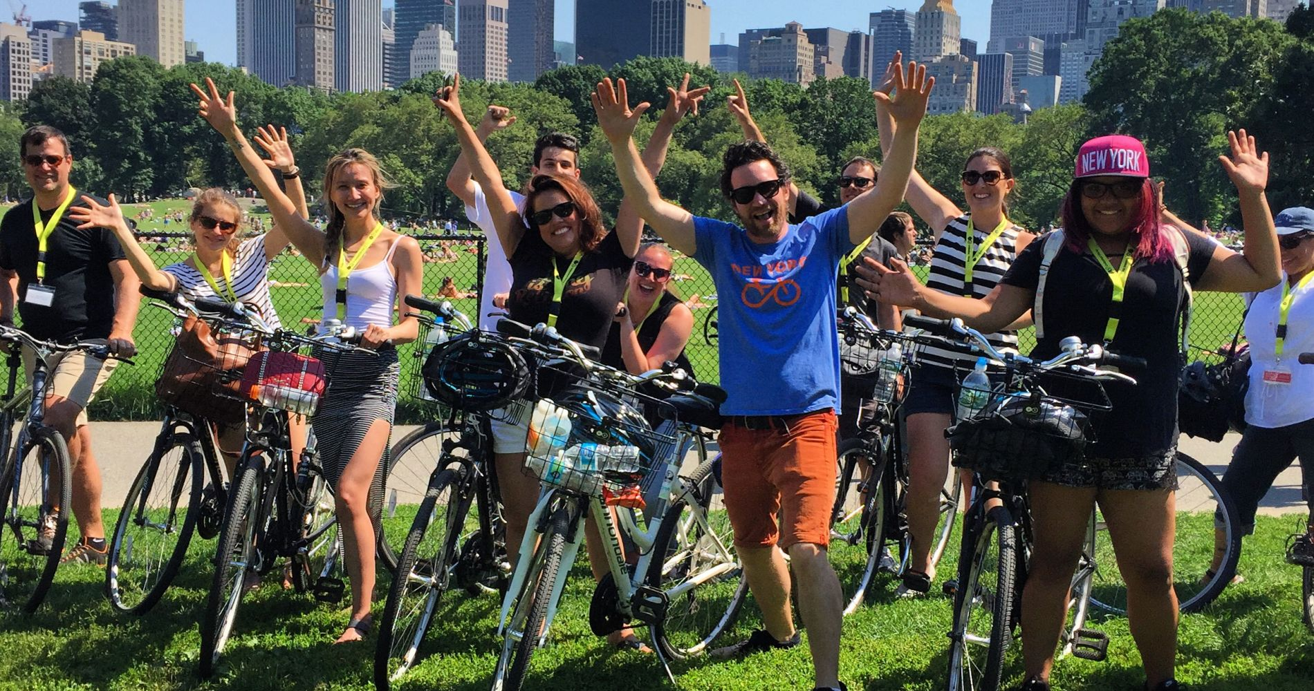 New York Central Park Bike Tour for Two