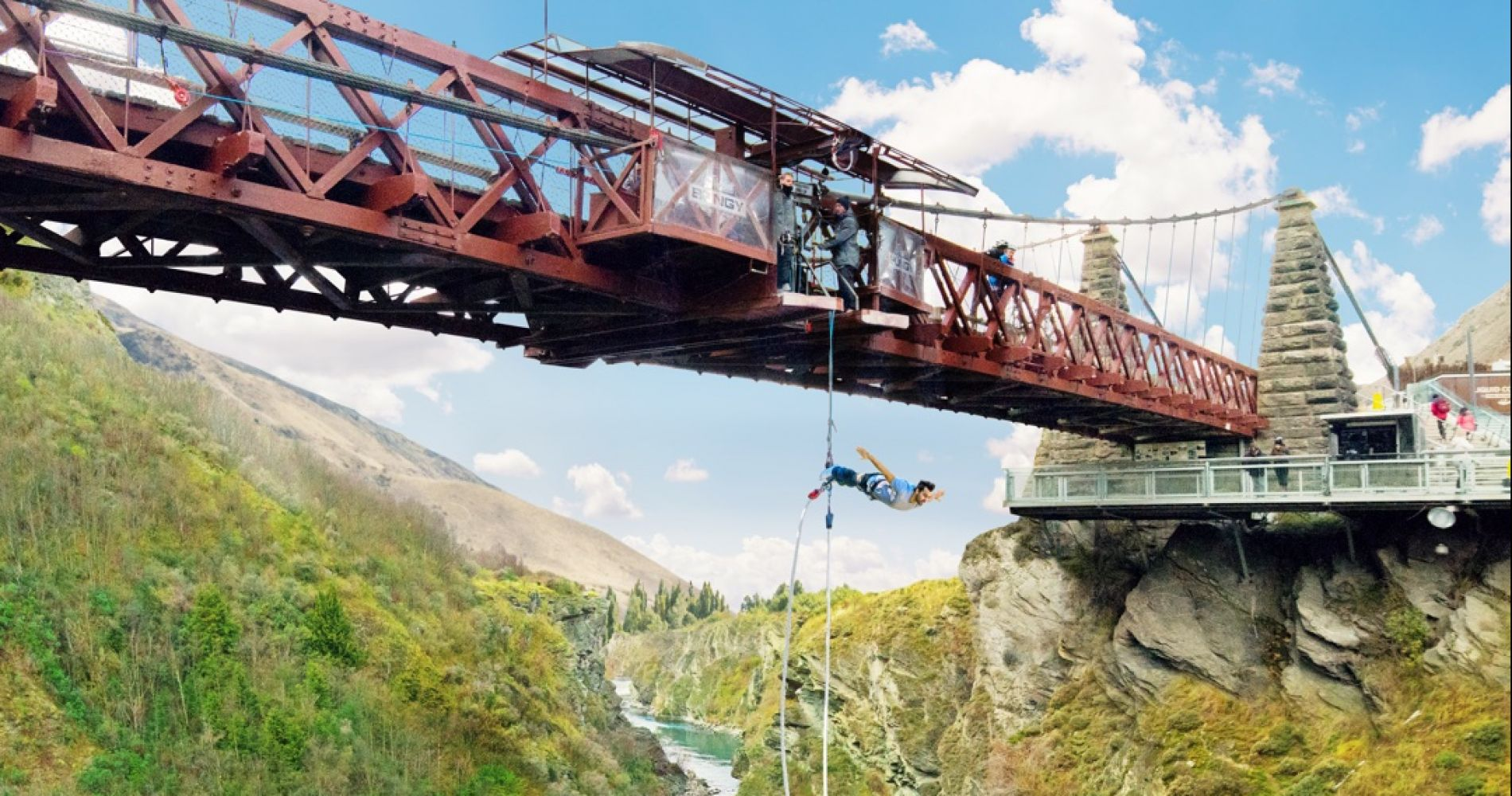 Kawarau Bridge Bungy jump