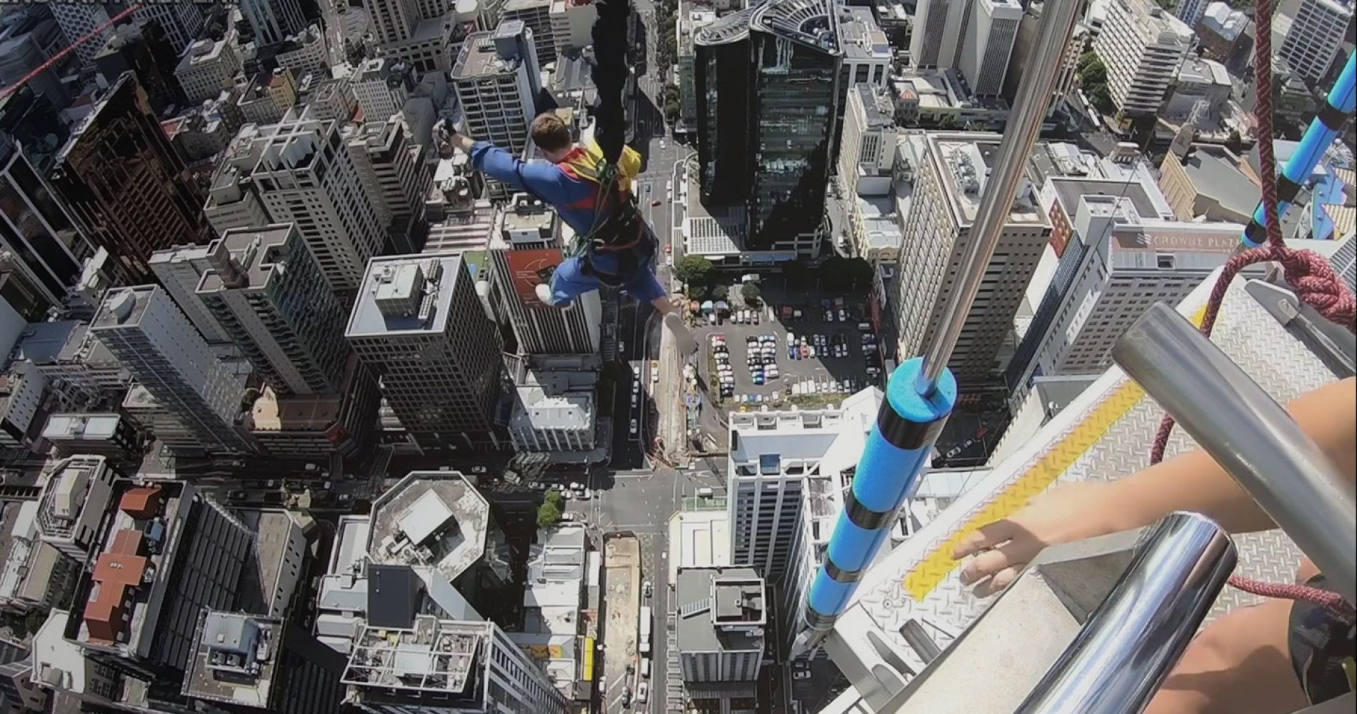 SkyJump in Auckland