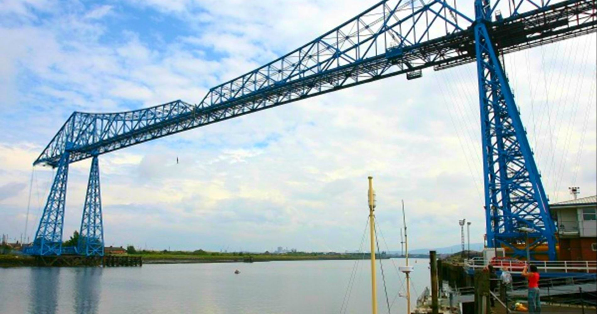 Tees Transporter Bridge Bungee Jump