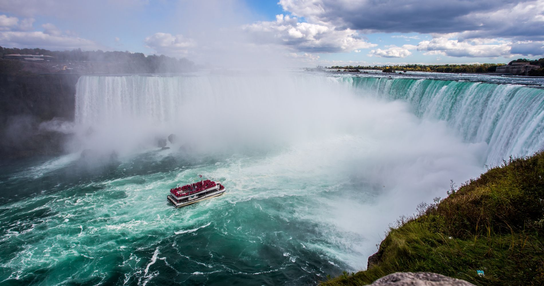 Niagara Falls Canadian & American Deluxe Day Tour for Two