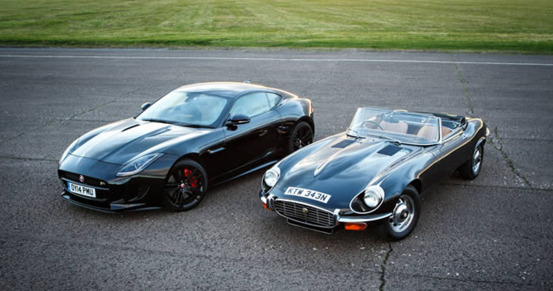 Jaguar Classic E-Type and F-Type Experience