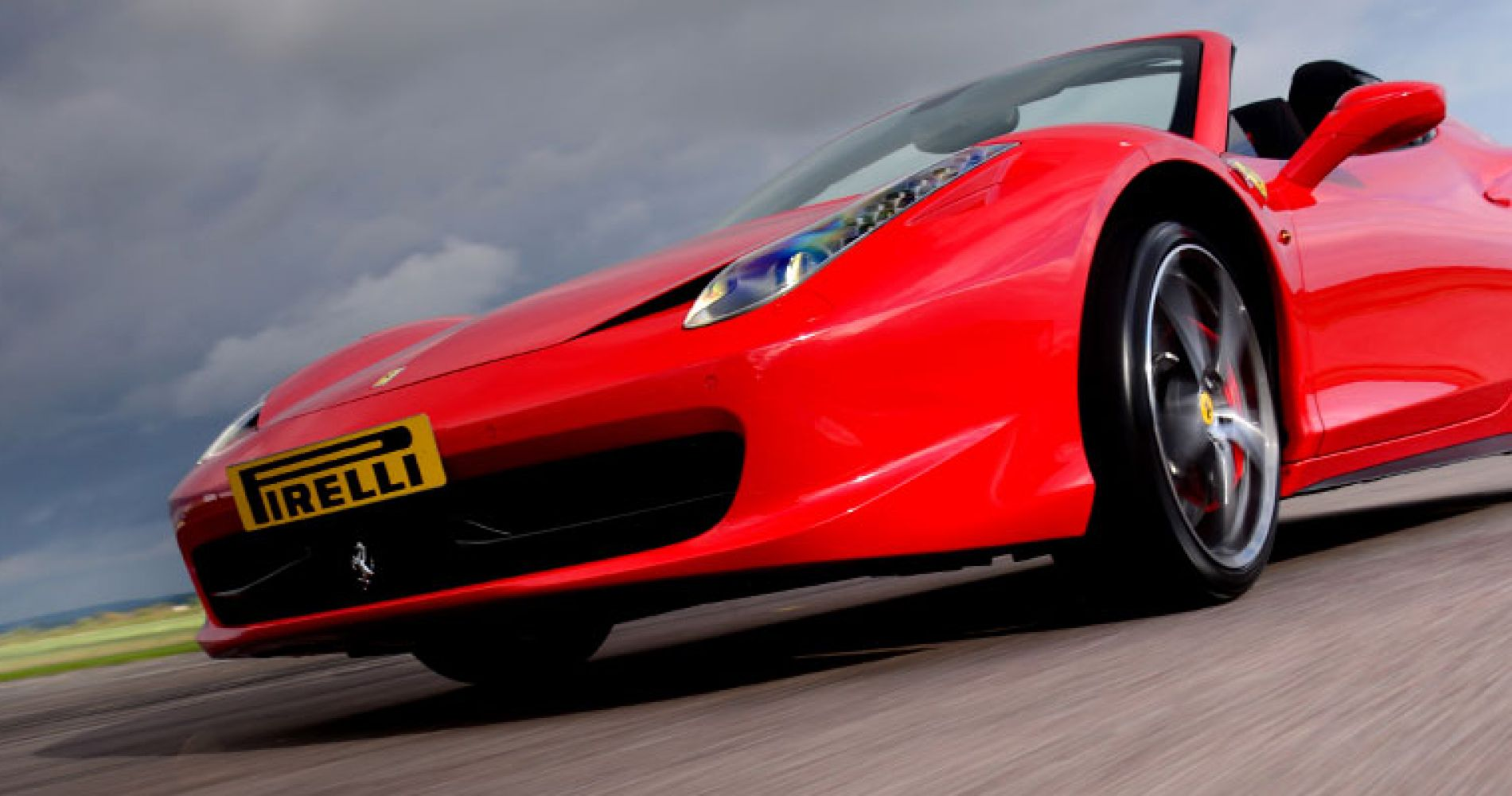 FERRARI 458 SPIDER DRIVING EXPERIENCE PLUS