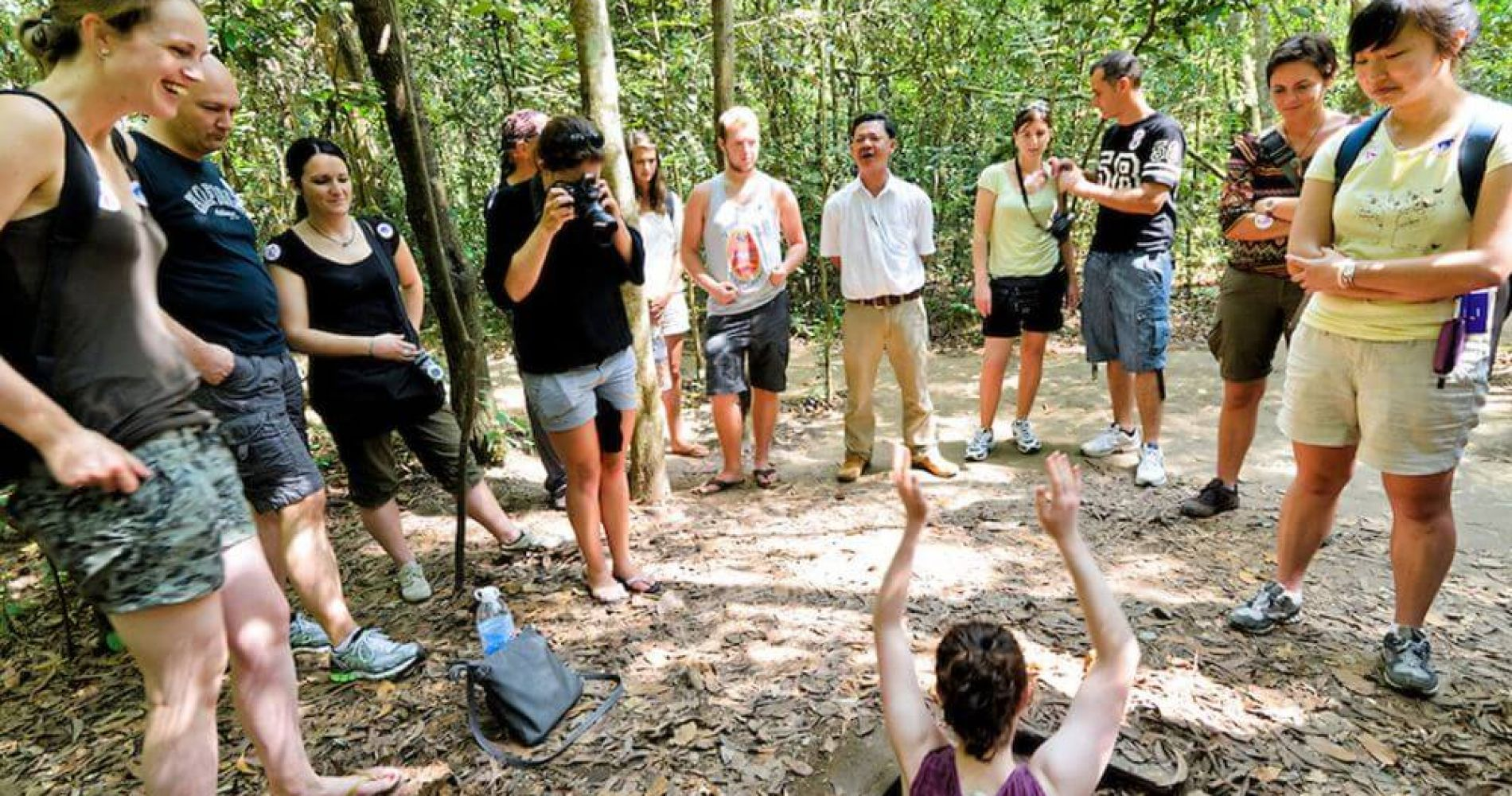 Half Day Tour to Cu Chi Tunnels by Speedboat