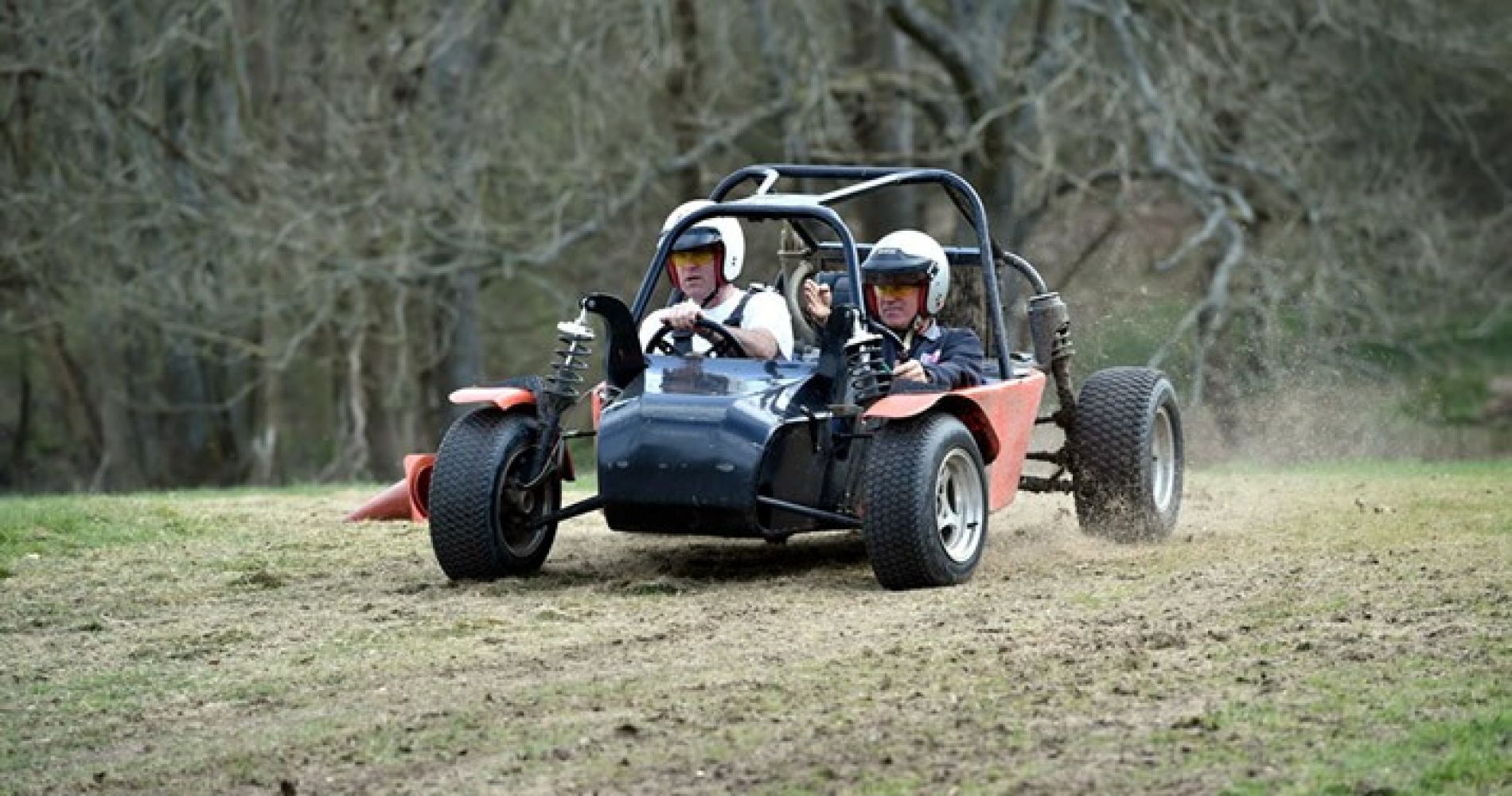 Quads & Apache Rally Cars in Kent for three