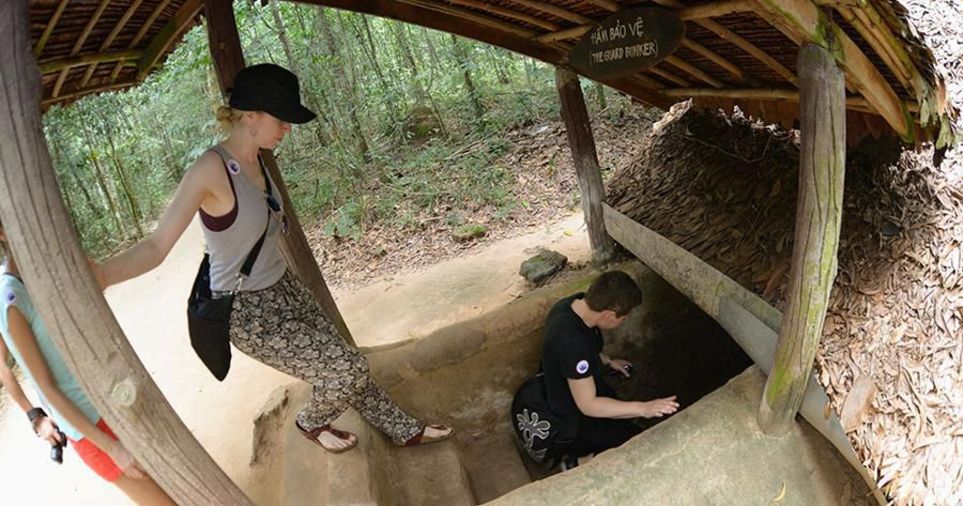 Half Day Tour to Cu Chi Tunnels by Speedboat for Two