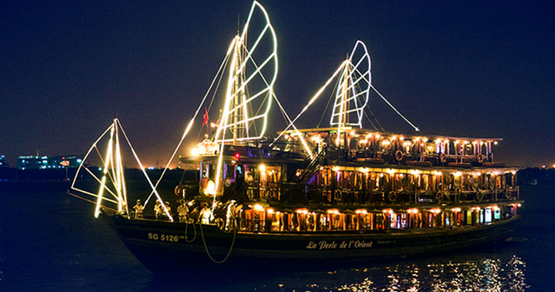 Saigon River Cruise by Night