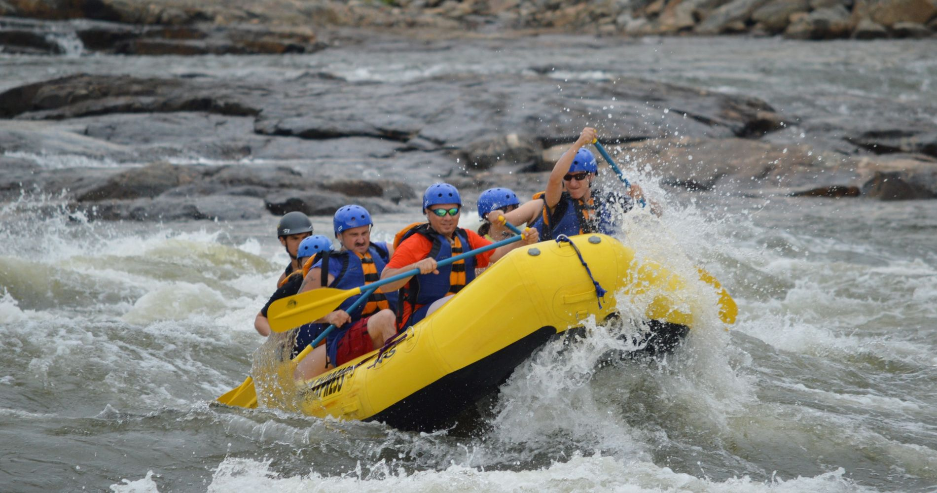 Whitewater Rafting on South Fork American River for Two
