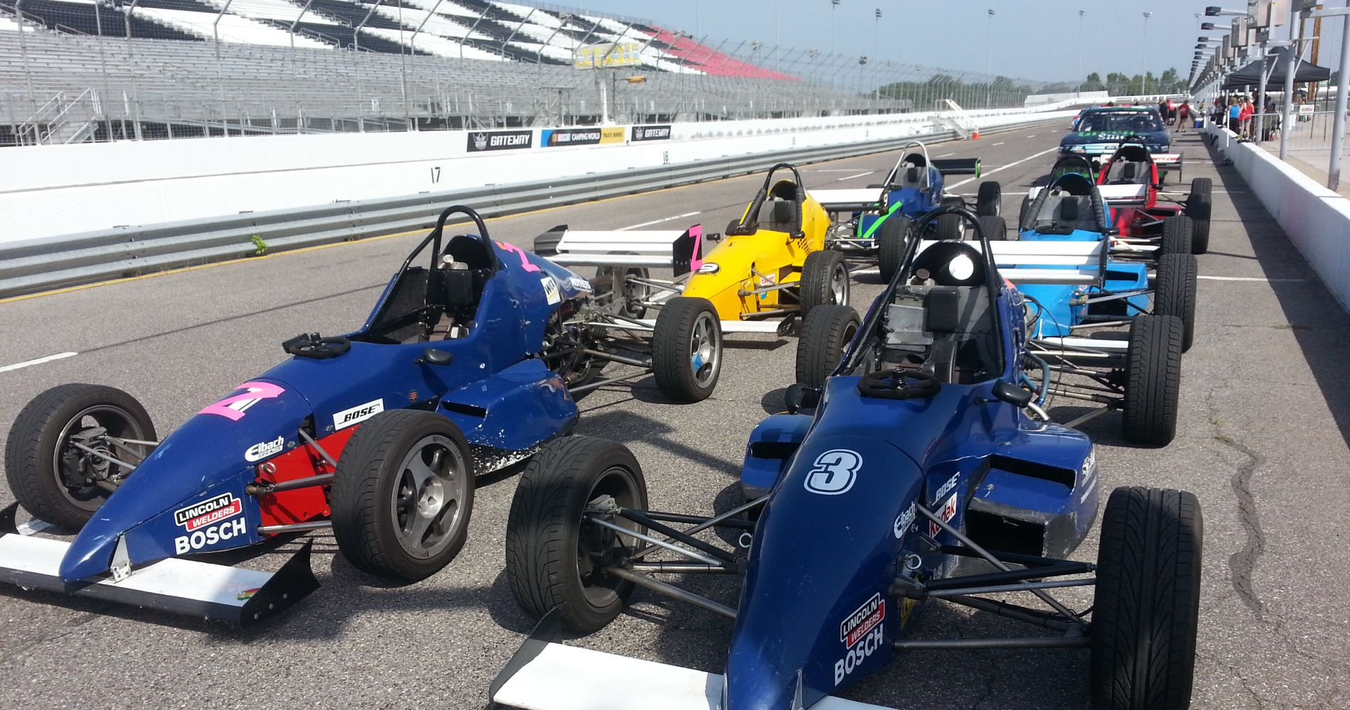 Formula Car Driving Experience in Multiple Locations across United States and Canada