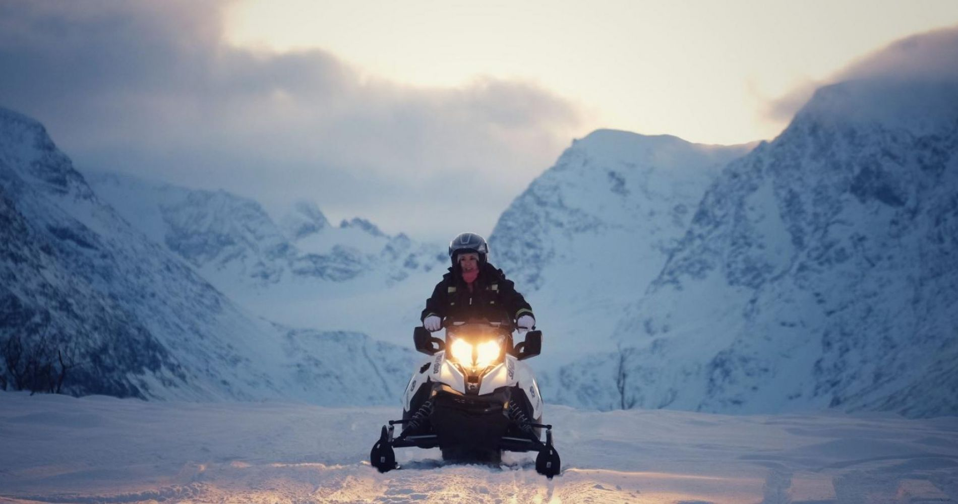 Snowmobile Safari for Two in Norway