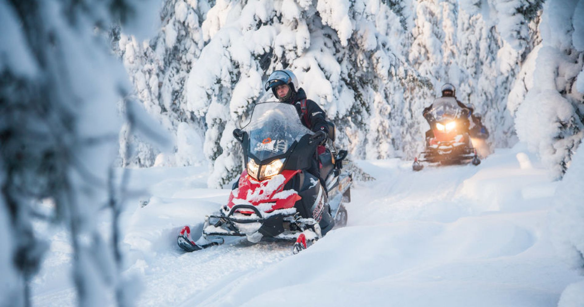 Rovaniemi: Snowmobiling Experience for Four in Finland