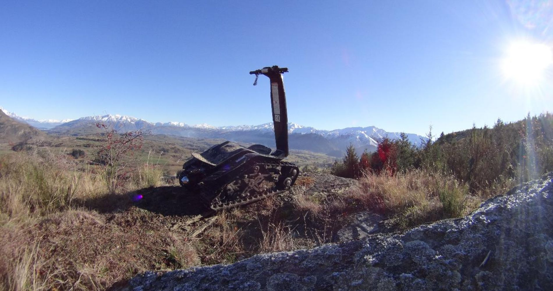 Off Road Mountain Shredder Tour for Three in Queenstown